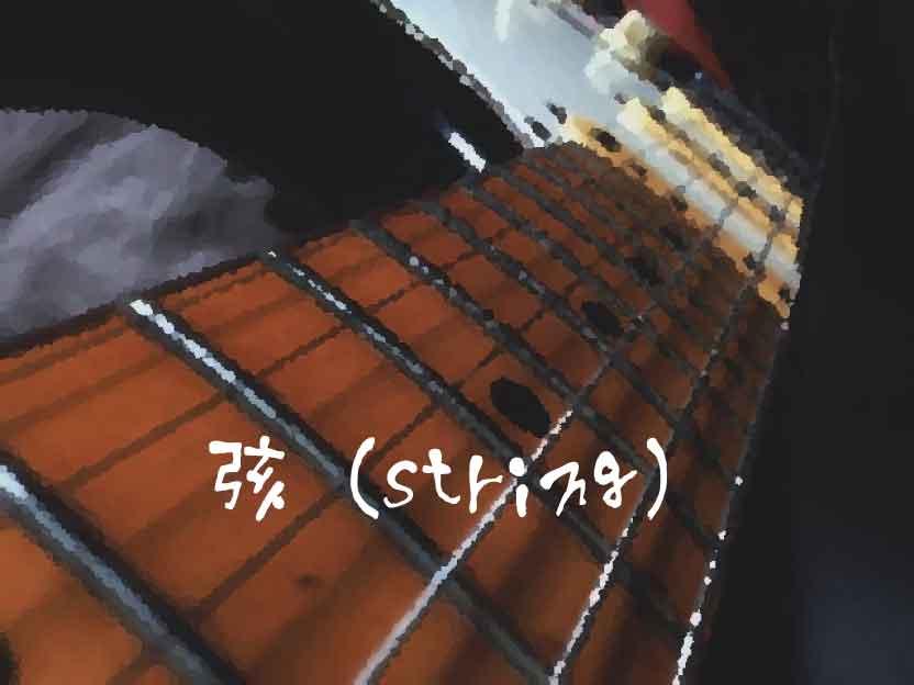 弦(string)